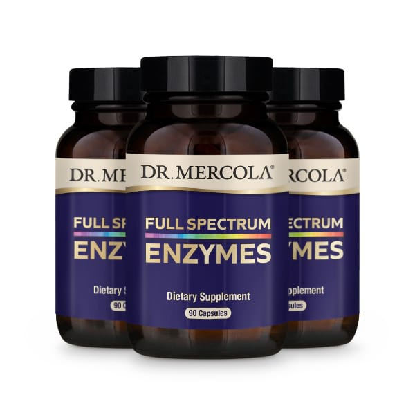 Full Spectrum Enzymes (90 per bottle): 90 Day Supply