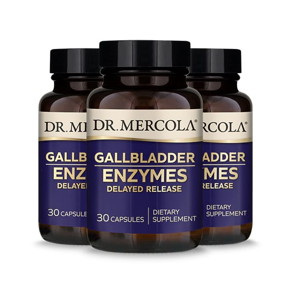 Gallbladder Enzymes (30 per bottle): 90 Day Supply