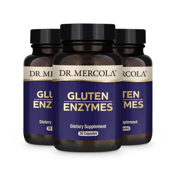 Gluten Enzymes (30 per bottle):90 Day Supply