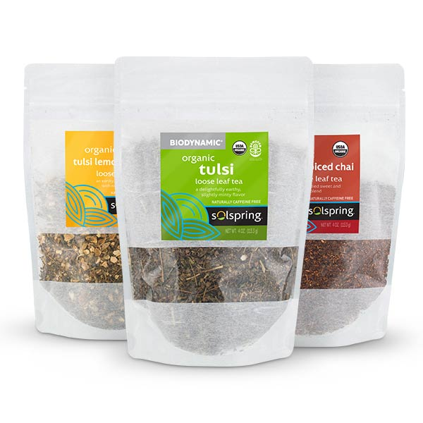 Organic Tulsi Loose Leaf Tea