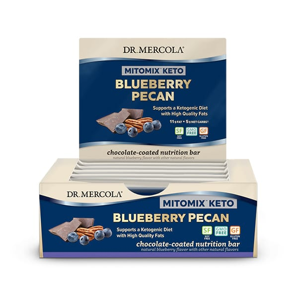 MITOMIX™ KETO Bars - Chocolate Blueberry Pecan