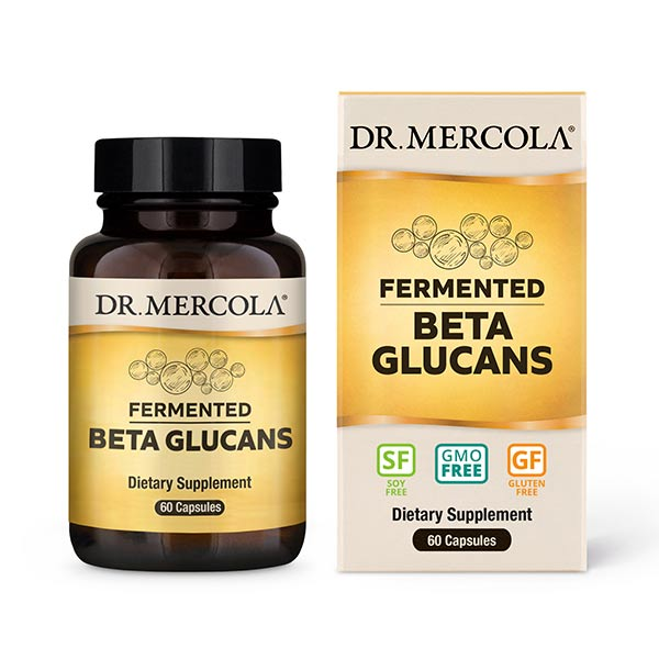Fermented Beta Glucans (60 per Bottle): 30-Day Supply