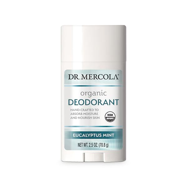 Desodorante Orgánico Menta Eucalipto (2.5 oz): 1 Envase