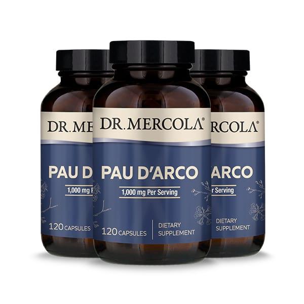 Pau d'Arco (120 per bottle): 90 Day Supply