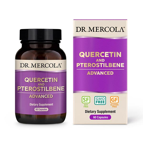 Quercetin and Pterostilbene Advanced (60 per bottle): 30 Day Supply