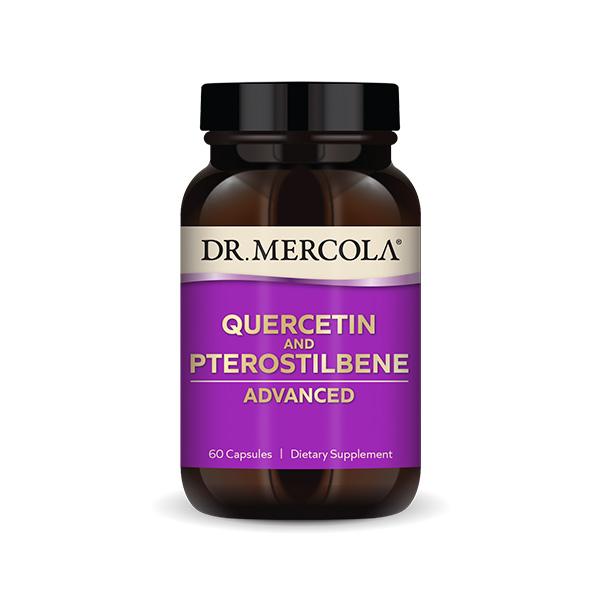 Fórmula Avanzada de Quercetina y Pterostilbeno (60 por botella): Suministro para 30 días