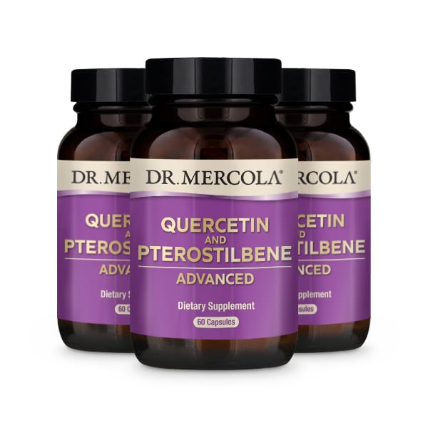 Quercetin and Pterostilbene Advanced (60 per bottle): 90 Day Supply