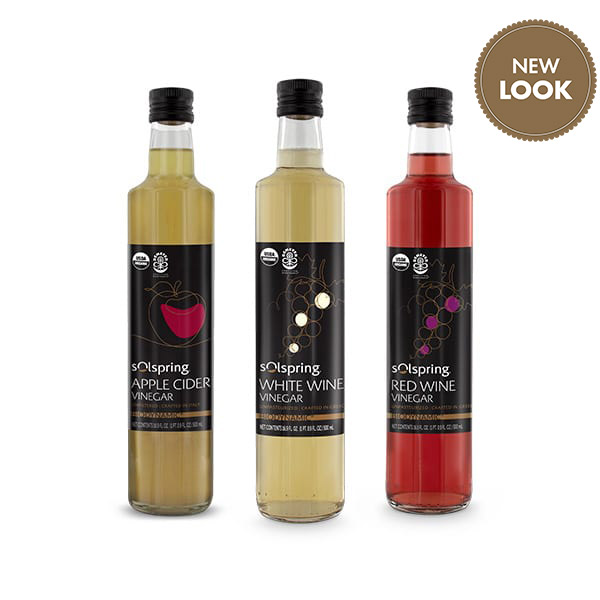 Organic Vinegar: Create You Own 3-Pack