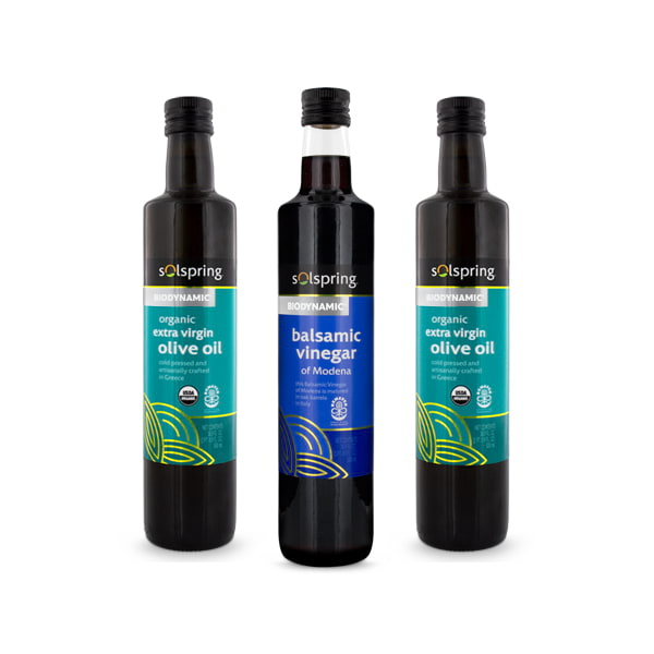 Solspring Biodynamic Oil & Vinegar Pack