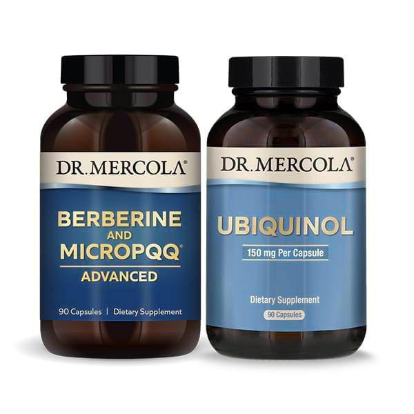 Berberine and MicroPQQ Advanced & Ubiquinol 150 mg: 90 Day Supply