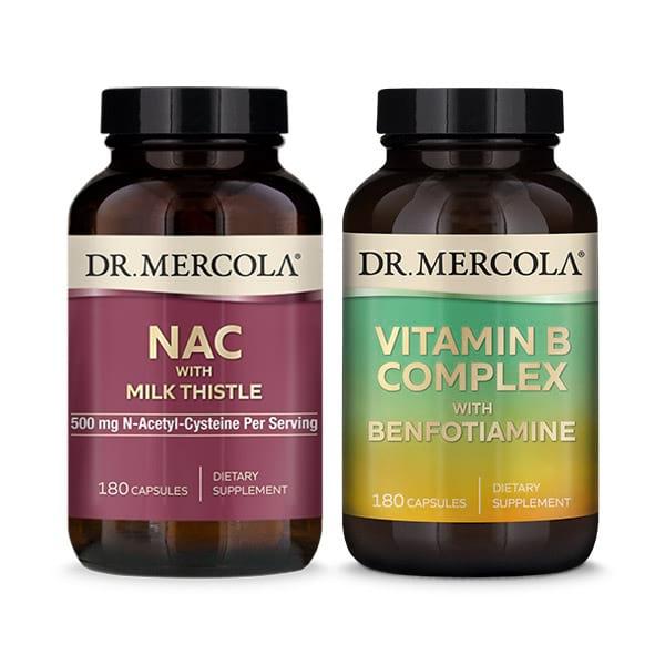 Apoyo para el Hígado y Complejo de Vitamina B: Suministro para 90 días