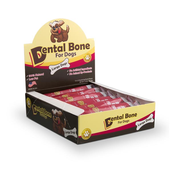 Dental Bones for Large Dogs Single Container
