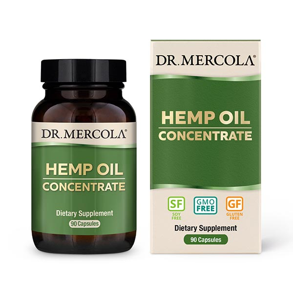 Hemp Oil Concentrate (90 per bottle): 90 Day Supply