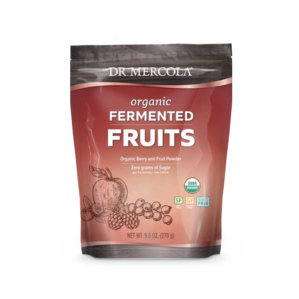 Organic Fermented Fruits (90 Servings): 1 Bag