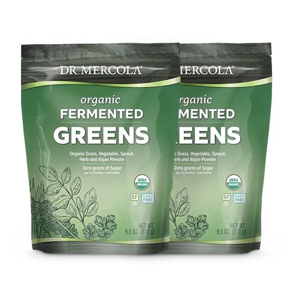 Mezcla de Vegetales Orgánicos Fermentados (180 porciones): 2 bolsas