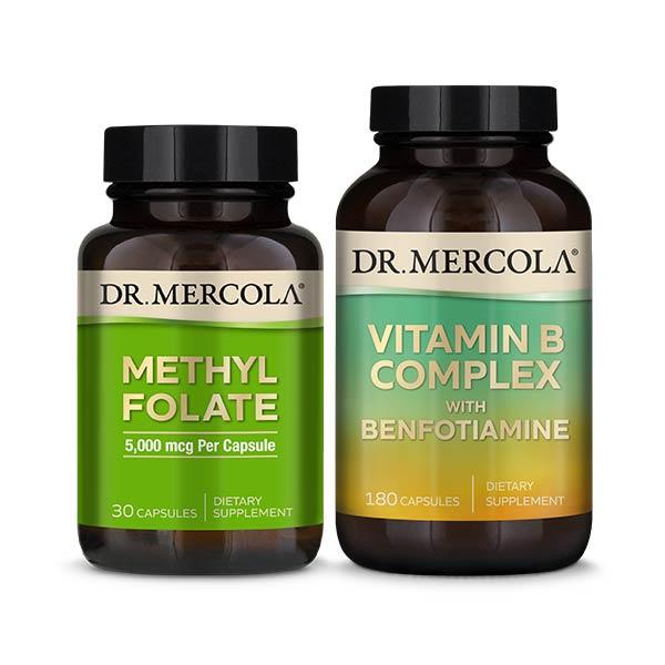 Methyl Folate & Vitamin B Complex: 90 Day Supply