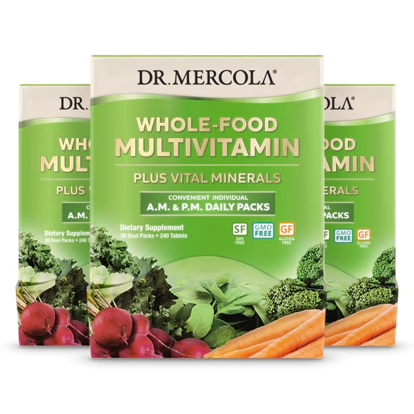 Whole-Food Multivitamin Daily Packs 90-Day Supply