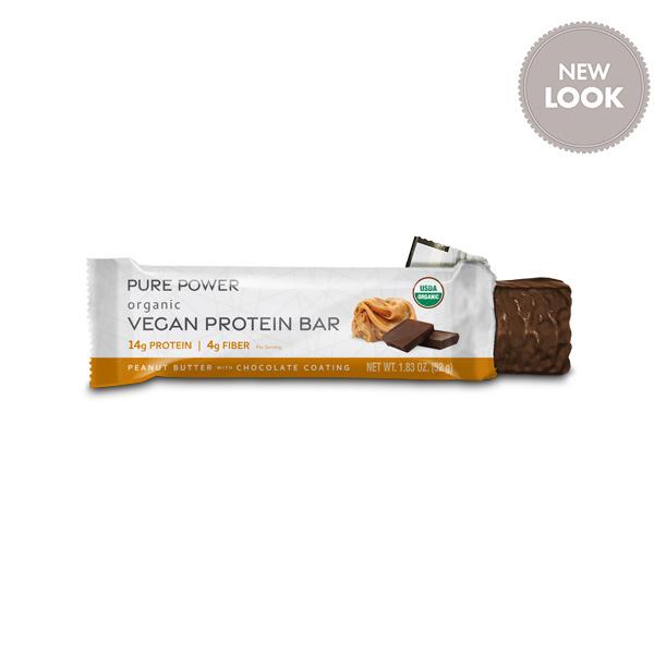 Organic Pure Power Peanut Butter Protein Bars: 1 Bar