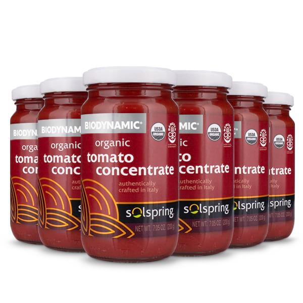 Solspring® Biodynamic® Organic Tomato Concentrate (7.05 oz. per jar): 6 Jars