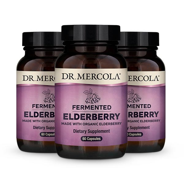 Fermented Elderberry (60 per bottle): 90 Day Supply
