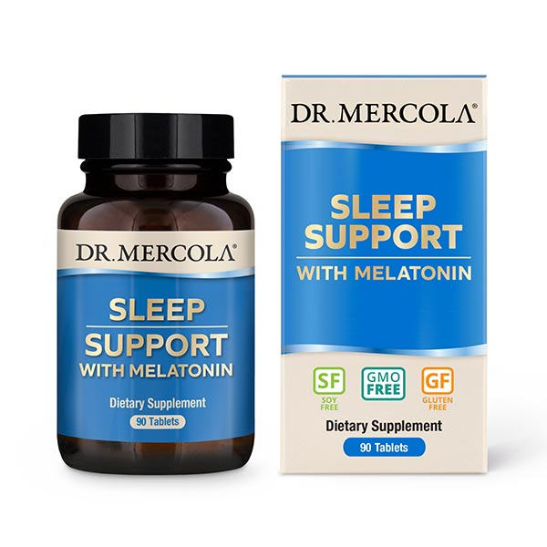 Sleep Support with Melatonin (90 per bottle): 90 Day Supply