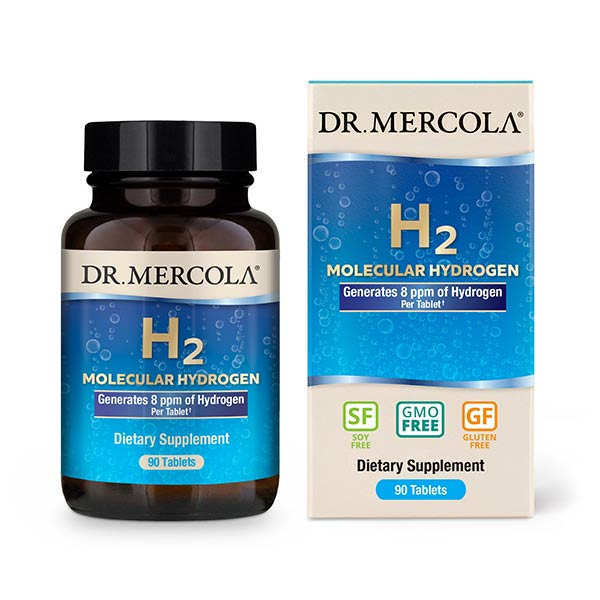 H2 Molecular Hydrogen (90 per bottle): 90 Day Supply