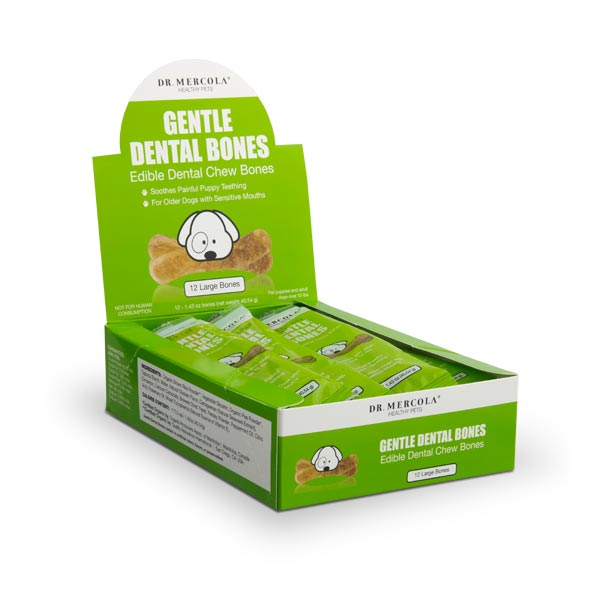 Gentle Dental Bones for Large Dogs Single Container