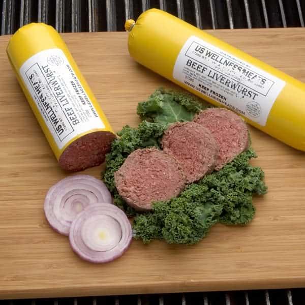 Beef Liverwurst - 4 (1 lb.) Packs