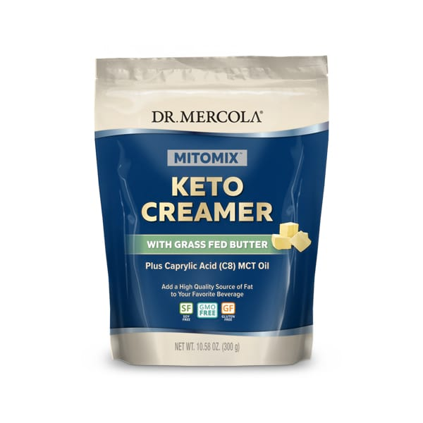 MITOMIX™ KETO Creamer with Grass Fed Butter (15 Servings): 1 Bag