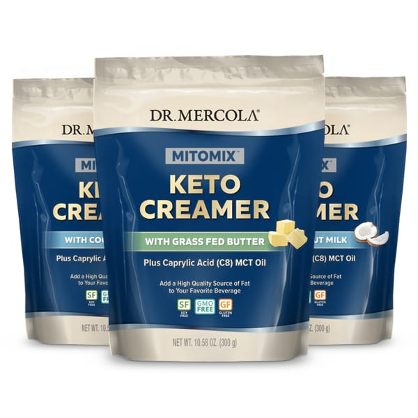 MITOMIX™ KETO Creamer: Create Your Own 3-Pack