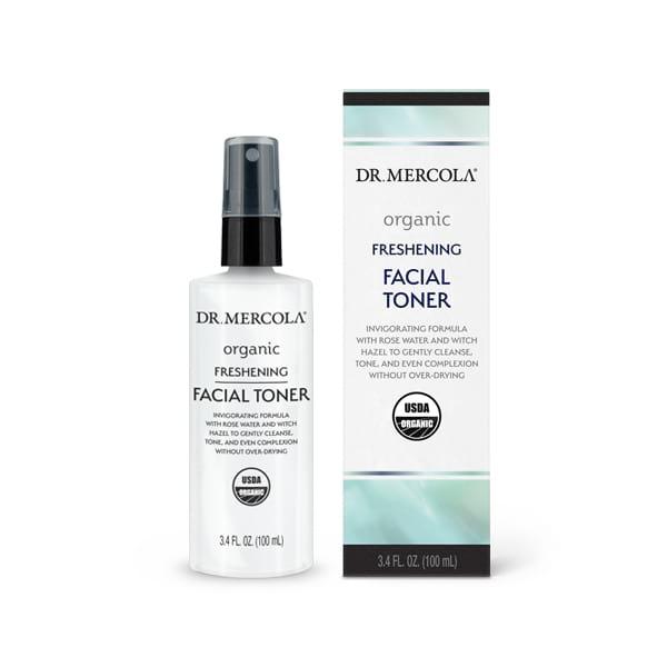 Organic Freshening Facial Toner (3.4 Fl. Oz.): 1 Bottle