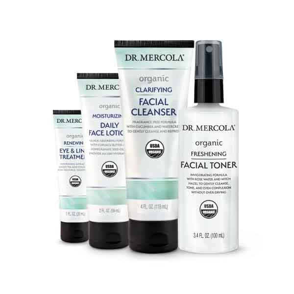 Organic Daytime Skincare Set