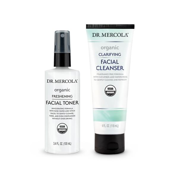 Organic Cleanse & Tone Skincare Set