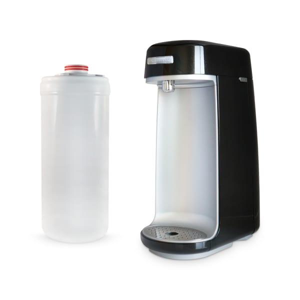 Fluoride Removal Full Spectrum Countertop Water Filter & Replacement Bundle - Black