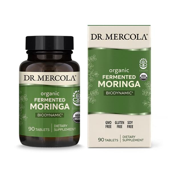 Biodynamic® Organic Fermented Moringa (90 per bottle): 30 Day Supply