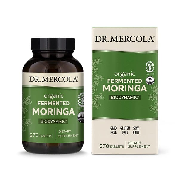 Biodynamic® Organic Fermented Moringa (270 per bottle): 90 Day Supply