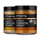 Solspring™ Biodynamic® Organic Fermented Spices: Create Your Own 2-Pack