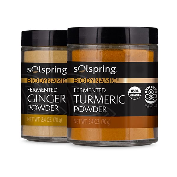 Solspring® Biodynamic® Organic Fermented Spices: Create Your Own 2-Pack (2.4 oz)