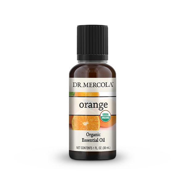 Organic Orange Essential Oil (1oz.): 1 Bottle