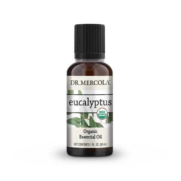 Organic Eucalyptus Essential Oil (1 oz.): 1 Bottle