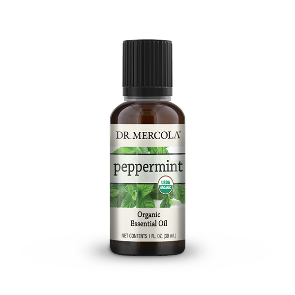 Organic Peppermint Essential Oil (1 oz.): 1 Bottle