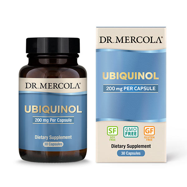 Ubiquinol 200 mg (30 per bottle): 30 Day Supply