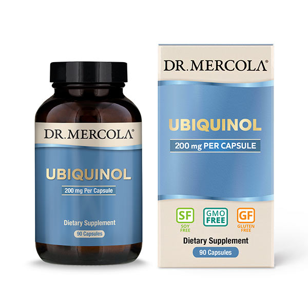 Ubiquinol 200 mg (90 per bottle): 90 Day Supply