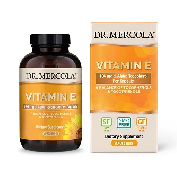 Vitamin E (90 per bottle): 90-Day Supply