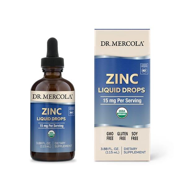 Liquid Zinc Drops (3.88 fl. oz.): 1 Bottle