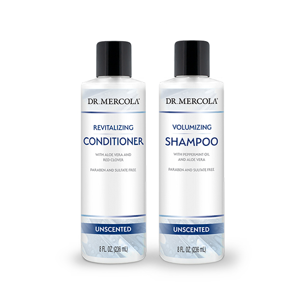 Revitalizing Conditioner + Volumizing Shampoo 4-pack