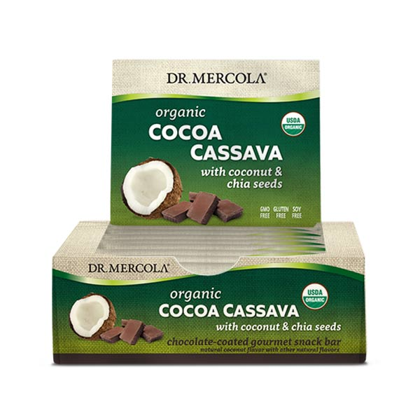 Cocoa Cassava (12 bars per box): 3 boxes