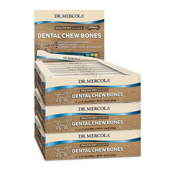 Dental Chew Bones Small 3 Boxes