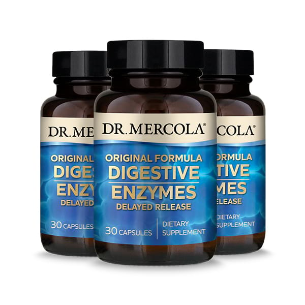 Digestive Enzymes Original (30 per bottle): 90 Day Supply