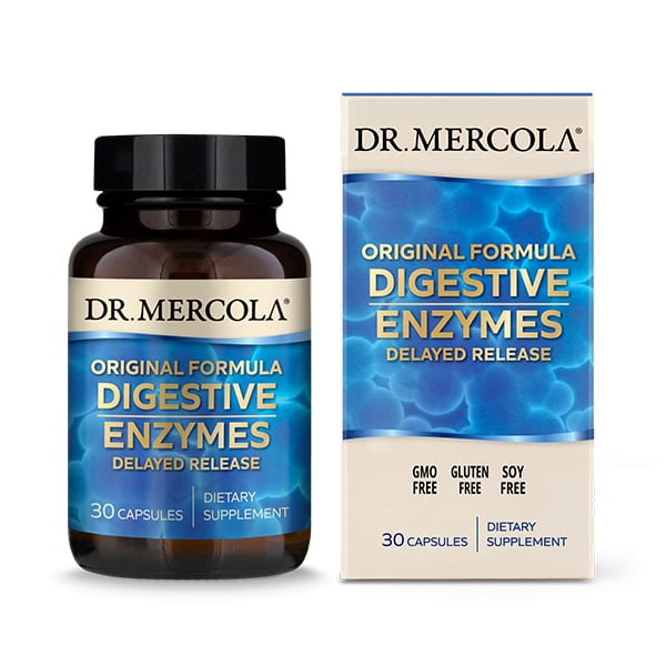 Digestive Enzymes Original (30 per bottle): 30 Day Supply